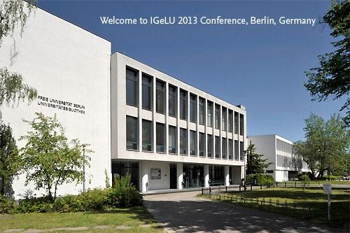 IGeLU 2013 - FU Berlin