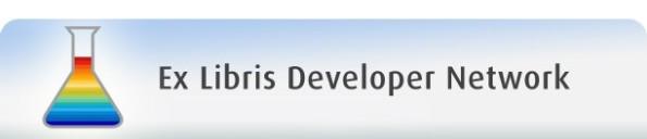 Ex Libris Developer Network